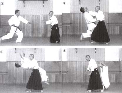 Aikido 4part takedown The need to breakfall