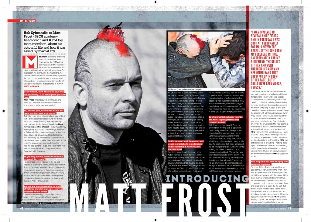MAtt Frost interview.indd