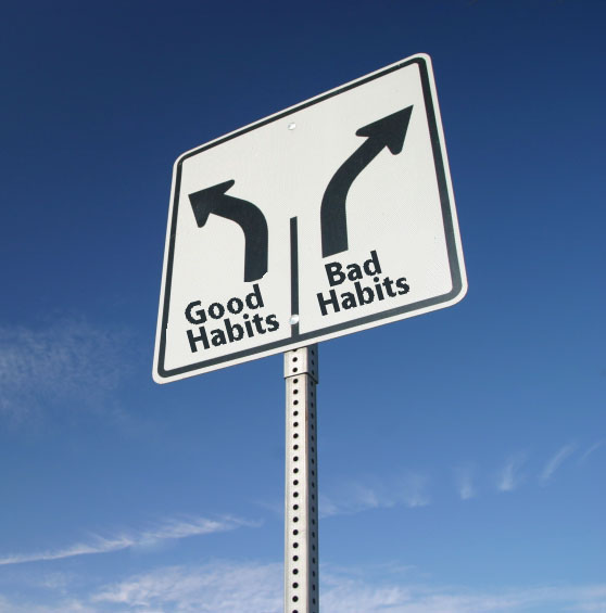 good habits bad habits Good habits, good martial arts