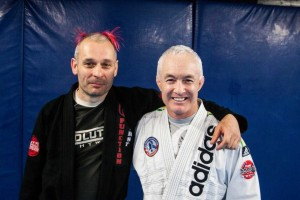 Matt with BJJ Legend Jon Will
