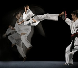 Steven Ho Martial Arts Kick 300x262 Ego and the Martial Arts