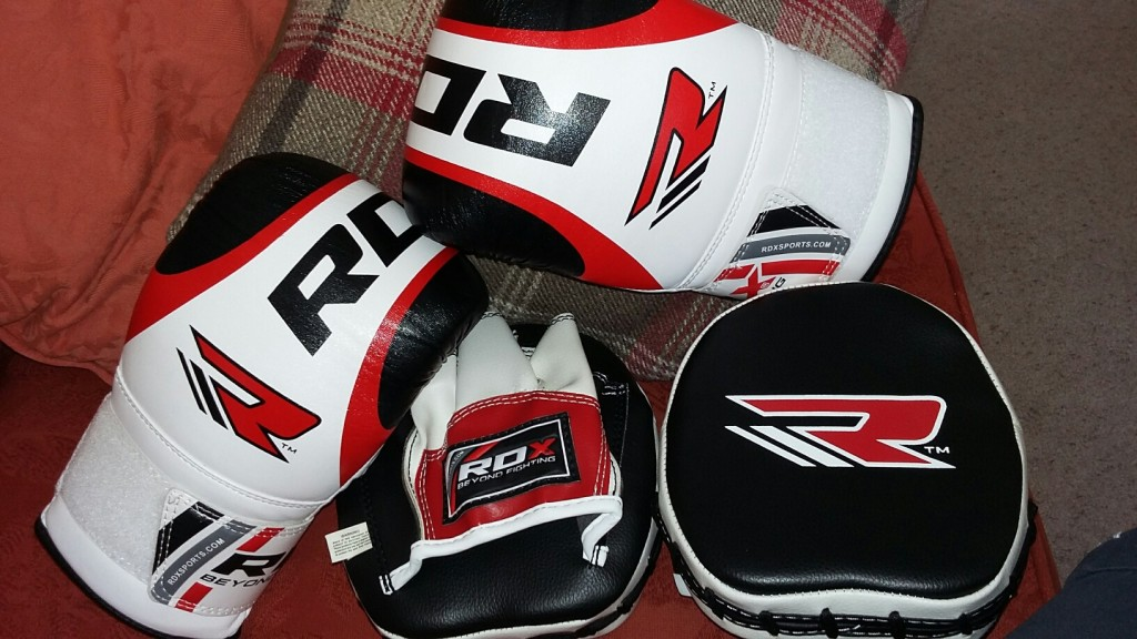 20150808 124720 resized 1024x576 RDX Curved Focus Mitts and Boxing Gloves Review