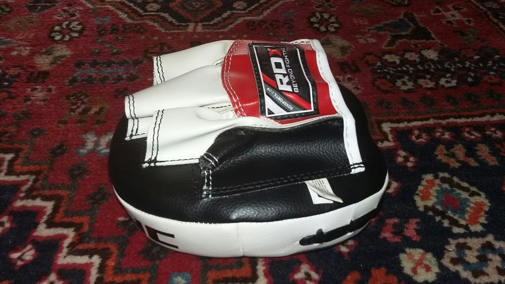 20150810 200504 resized 1024x576 RDX Curved Focus Mitts and Boxing Gloves Review
