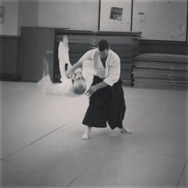 Me giving an instructor demonstration last year