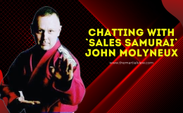 Chatting with`Sales Samurai` John Molyneux.